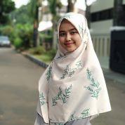 Hijab square motif  120cm kode MA3