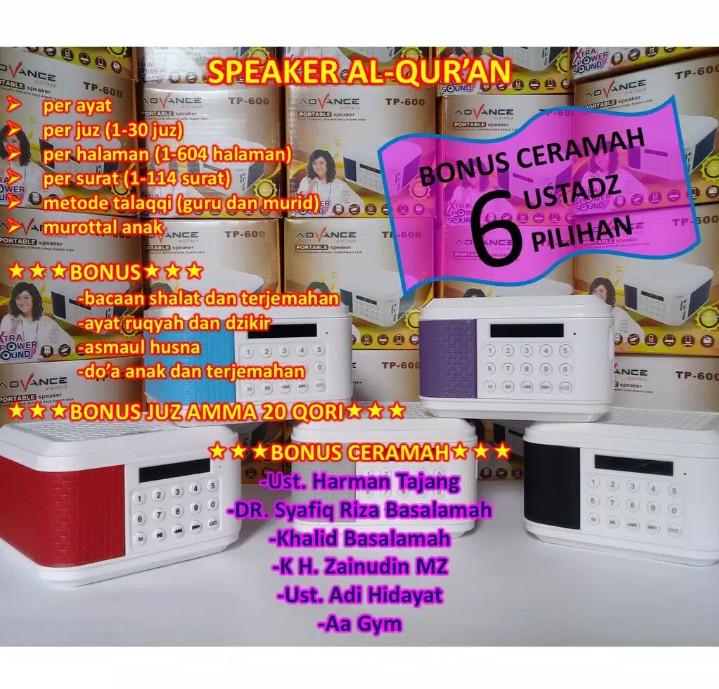 Speaker Al-Qur'an Portable - Tp-600