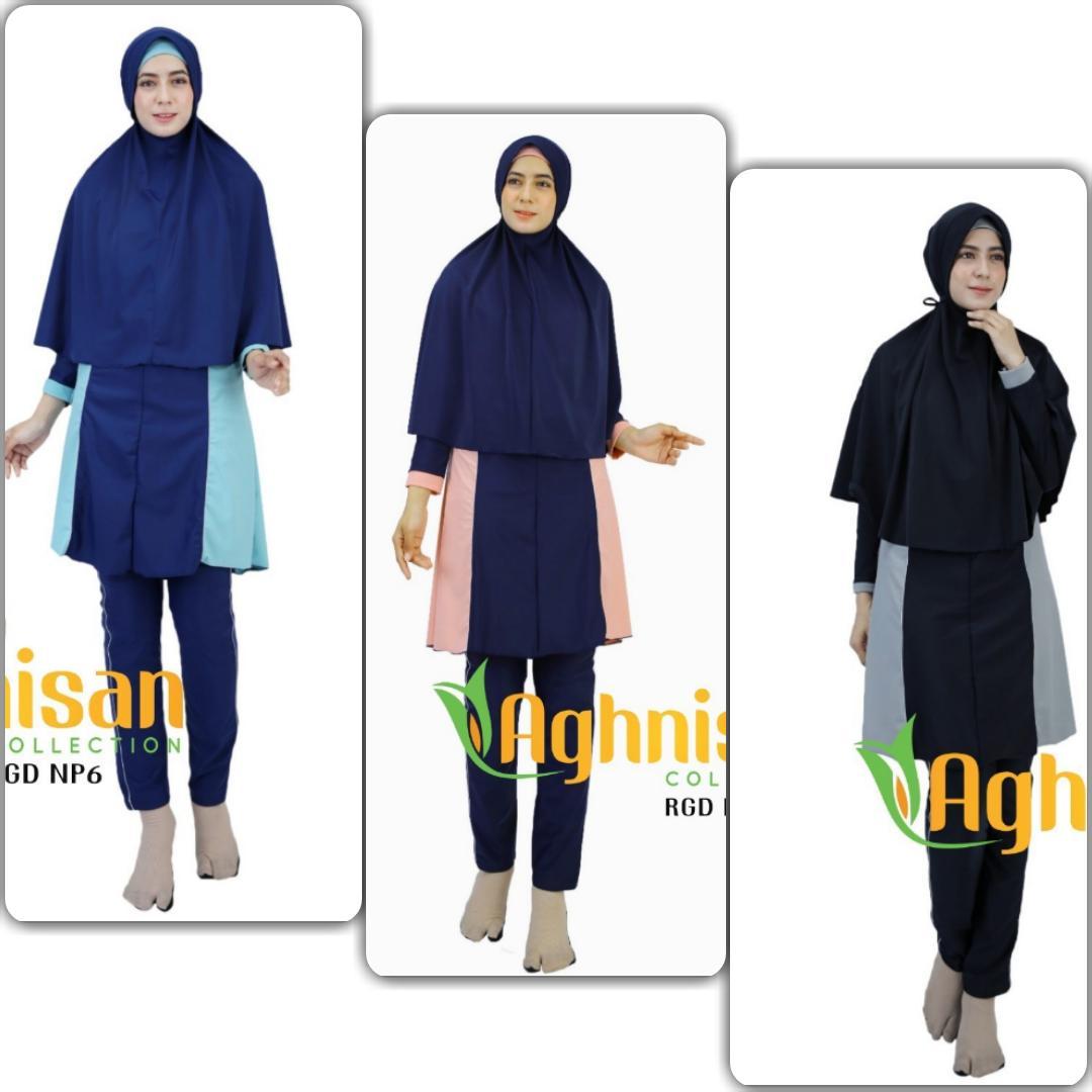 Baju renang muslimah new premium