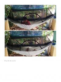 HAMMOCK + Jaring Anti Nyamuk