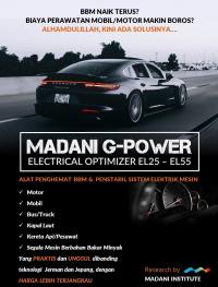 ALAT PENGHEMAT BBM   MADANI G-POWER EL45