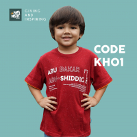 kaos anak islami seri khalifah