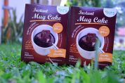 Instant Mug Cake Gluten Free Double Chocolate 5 Porsi