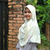 Hijab square motif 120 cm kode MA2