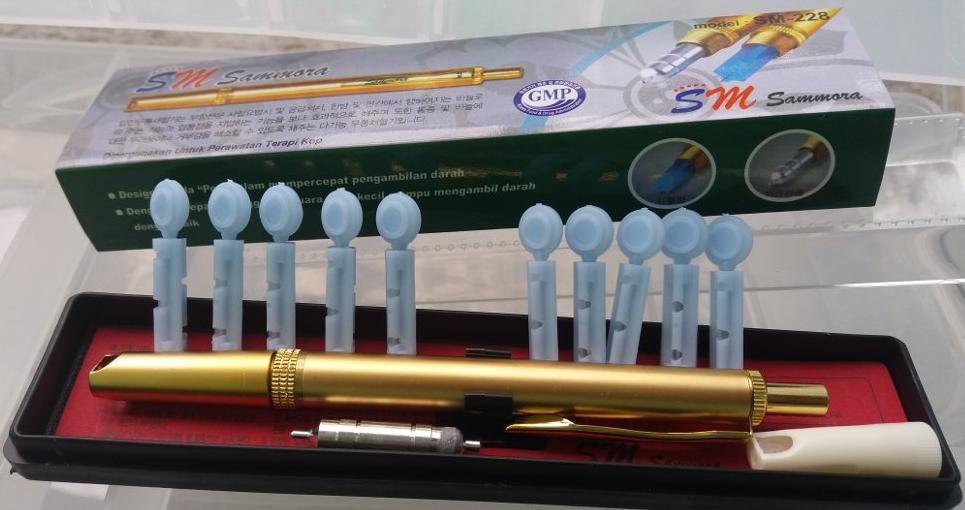 lancing device samora gold