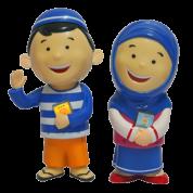 New Hafiz Hafizah doll