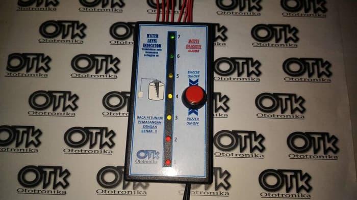 Water Level Indicator w/ Buzzer Alarm / Indikator Ketinggian Air
