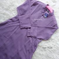 Gamis Fatin - Purple M