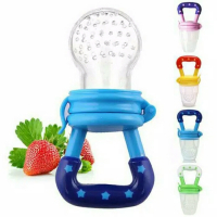 Empeng buah/baby fruit & food feeder