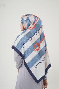 Hijab Turki 02 Blue