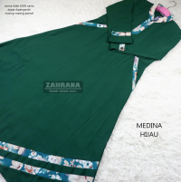 Gamis Medina - Hijau XL