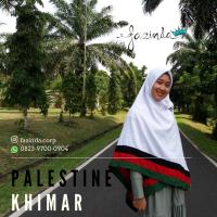 Jilbab Palestina List Dua Sisi
