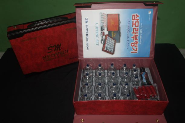 Kop Bekam Premium  Quality merek Samora isi 19