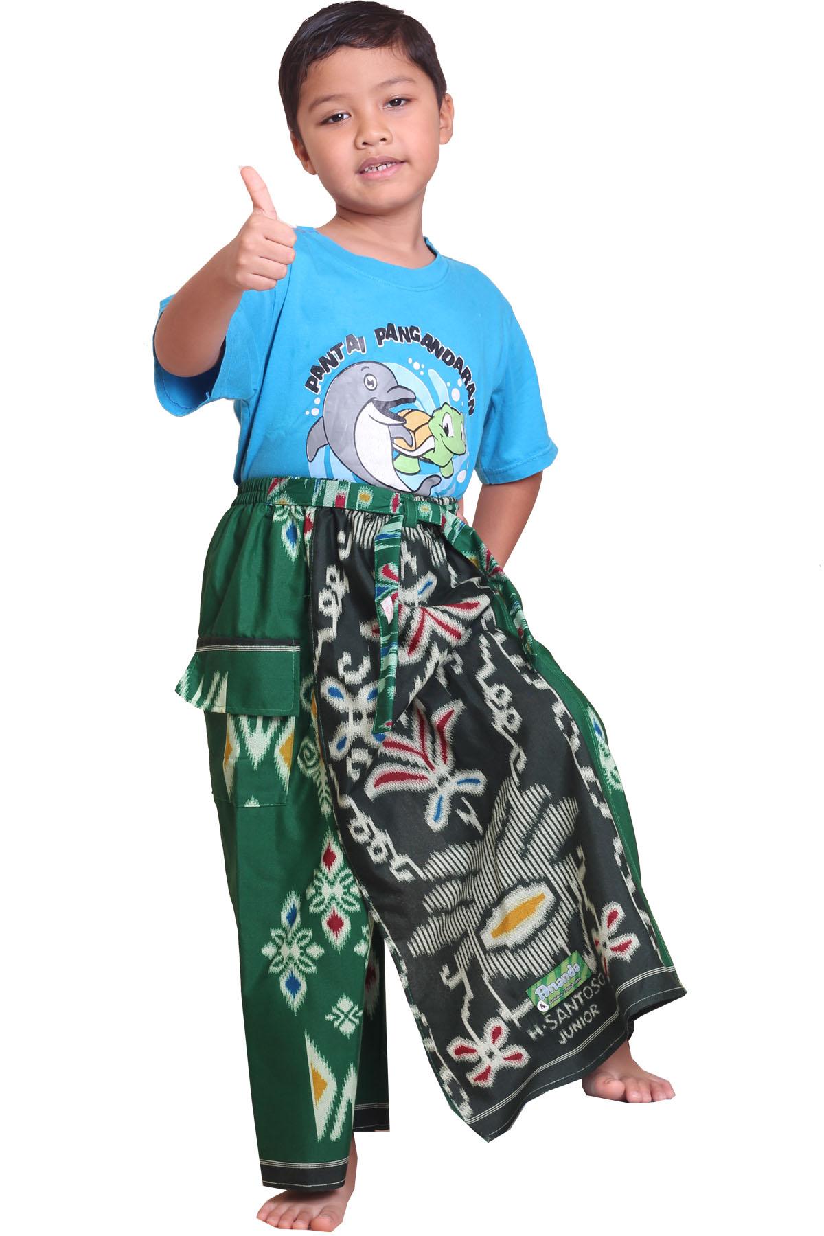 Celana Sarung KIDZ - DARK GREEN