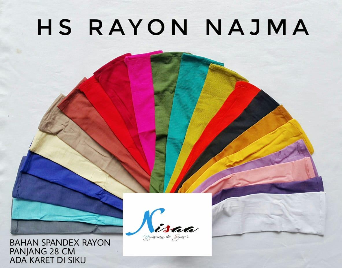Handsock Rayon Najma