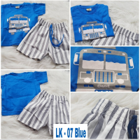 Setelan anak laki-laki kode LK-07 Blue