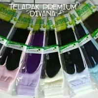 Kaos kaki jempol hitam polos premium